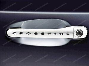 6 x Chrysler Crossfire Stickers for Door Handles #3