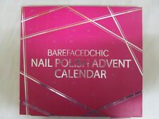 Bare Faced Chic Nail Polish Advent Calendar - Brand New