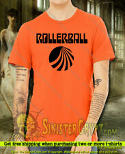 Rollerball t-shirt. Sci Fi Movie James Caan Retro Vintage 70's Cult Small to 6Xl