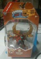 Two (2) New Head Rush Skylanders Trap Team Master Activision Action Figures Box