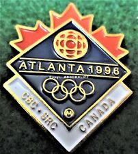 ATLANTA 1996 OLYMPICS CBC MEDIA Pin