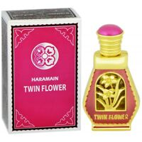 Twin Flower 15ml By Al Haramain White Flowers Jasmine White Musk Perfume Oil