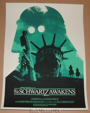 Joshua Budich Schwartz Awakens Space Balls There Goes The Planet Poster Print