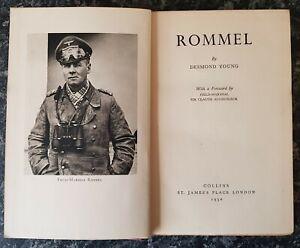 VINTAGE MILITARY BOOK.1950.FIELD-MARSHAL ROMMEL.GERMAN ARMY.WW2.ILLUSTRATED.