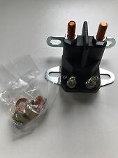 Magnetschalter 4-polig Rasentraktor 12V 4 Anschlüsse Rasenmäher Aufsitzmäher