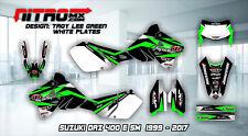 SUZUKI DRZ 400 E SM Graphics Kit Decal Design Stickers Motocross MX Enduro 99-17