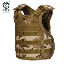 Tactical Vest Layer Military Beer Bottle Cover Beverage Cooler Mini Molle Vest