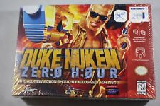 Duke Nukem Zero Hour  (Nintendo 64 n64) NEW Factory Sealed #B2