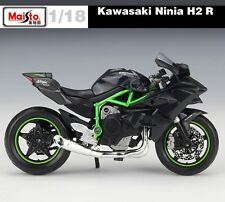 Maisto 1:18 Scale Kawasaki Ninja H2 R Model Motorcle Kids Toy Christmas Gift