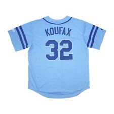 Sandy Koufax Los Angeles Dodgers Wheelhouse Full Button Down Jersey Large