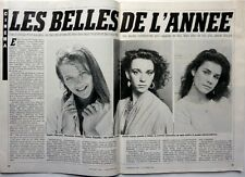 VALERIE KAPRISKY => coupure de presse 3 pages 1984  // FRENCH CLIPPING