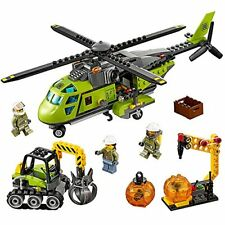 LEGO City Volcano Explorers Supply Helicopter Building Kit (330 Piece)