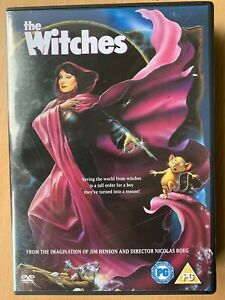 The Witches DVD 1990 Roald Dahl Scary Creepy Family Film Movie Classic