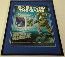 Halo Legends 2010 Framed 11x14 ORIGINAL Advertisement