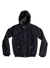 Quiksilver Boys 8-16 Brooks DWR Black Jacket Sz Medium EQBJK03072