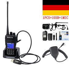 Retevis RT3 Digital DMR Radio UHF 5W 1000CH Walkie Talkie+USB Cable+PTT MIC