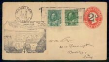 Mayfairstamps Canada First Flight Cover 1929 Late Use QV stationery Hamilton ON