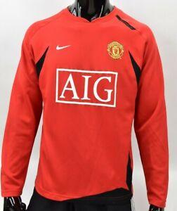 2008 Nike Manchester United Training Sweatshirt SIZE M (adults)
