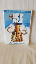 Ice Age  ( DVD, 2002, 2-Disc Set, Includes Full Frame and Widescreen ) & SCRAT
