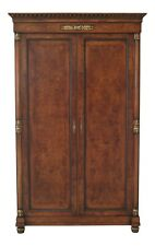 48006Ec: Giemme Francesco Molon Italian Walnut Large Bedroom Armoire