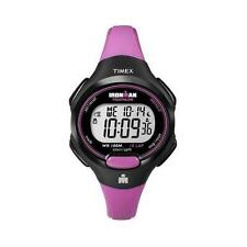 Timex Women's T5K525 Ironman 10 Lap Pink Strap Watch