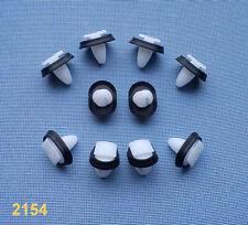 (2154) 10x rivestimento clip fissaggio klips supporto PANEL PER FIAT, PEUGEOT,