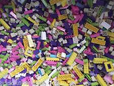 ☀️100+ LEGO GIRL FRIENDS PASTEL COLORS LEGOS PARTS & PIECES HUGE BULK LOT #1