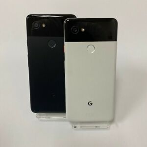 GOOGLE PIXEL 2 XL 128GB / 64GB - UNLOCKED Just Black / Black & White Smartphone