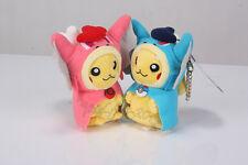 2pcs Pokemon Pikachu With Shiny Gyarados Cape Magikarp Plush Doll Toy Gift