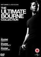 The Ultimate Bourne Colección Identity Supremacy 3X DVD Nuevo y sin Abrir