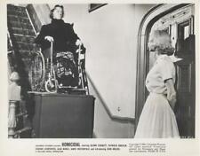 """HOMICIDAL""-ORIGINAL PHOTO-WILLIAM CASTLE-JEAN ARLESS-WHEELCHAIR"