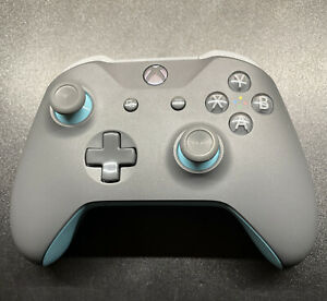 Microsoft Xbox Wireless Controller – Grey/Blue Model 1708