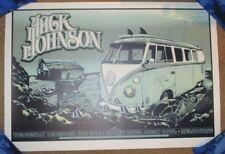 JACK JOHNSON concert gig poster print 12-8-10 2010 MELBOURNE Australia