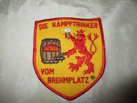 """Düsseldorf Eishockey Aufnäher """"DIE KAMPFTRINKER VOM BREHMERPLATZ"""" TOP"""