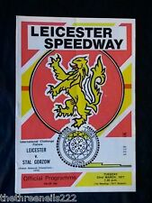 SPEEDWAY - LEICESTER V STAL GORZOW - MARCH 22 1977