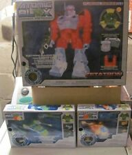 Atomic Blox lot of 3 NEW Light Up Buliding Toys Zetatron Helicopter more MISB