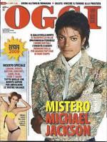 Michael Jackson Italian Magazine Christina Onassis Charlotte Casiraghi 2009