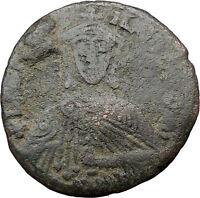 LEO VI, the Wise w  akakia  BYZANTINE  Large Ancient Coin 886AD  i31738
