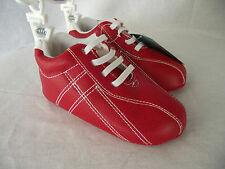 BNWT Baby Boy's 12-18 Months Playette Goldbug Cute Red Jogger Style Walker Shoes