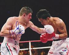 David Diaz SIGNED 8x10 Photo Lightweight Boxer PSA/DNA AUTOGRAPHED