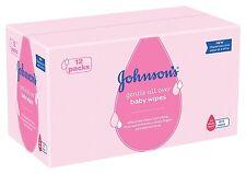 Johnson's Gentle Cleansing Toallitas Para Bebé 12 X Pack De 56 Toallitas (672 Toallitas) Nuevo