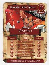 figurina - CARD GORMITI - SERIE 1 GRAVITUS