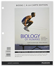 Biology of Humans: Concepts, Applications and Issues