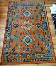 More details for vintage rug, egyptian, olefin turkomen, decorative carpet, late 20th.c