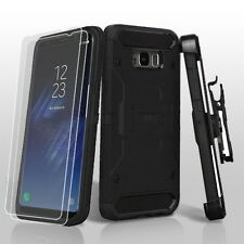 Samsung Galaxy S8 Plus S8+ 3-in-1 Kinetic Hybrid Holster Case w Screen Protector