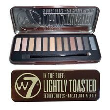 W7 In Buff Lightly Toasted Lidschatten Palette