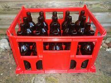 20 x Beer Bottles and Plastic Crate all Brand New