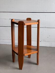 Vintage Arts & Crafts Mission Handmade Side Table
