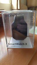Sony SmartWatch 3 practicamente nuevo mas 2 correas de cuero con sus adaptadores