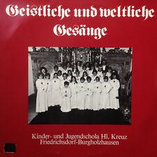 Geistliche und weltliche Gesänge - Friedrichsdorf-Burgholzhausen - Vinyl LP F8